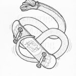 slow-worm-colouring-in-sheet