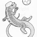 sand-lizard-colouring-in-sheet